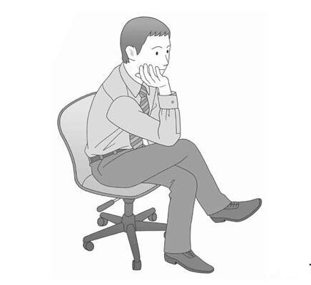 3招轻舒缓颈椎 不离开座位也能做