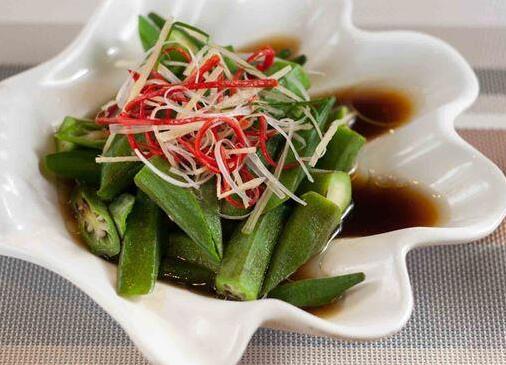 吃秋葵好处多 缓解便秘,更能补钙