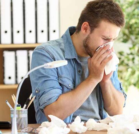 过敏鼻擤不停,两招缓解鼻塞